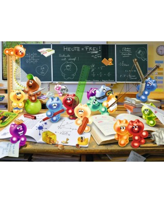 Puzzle Ravensburger - Gelini: Fun in the Classroom, 300 piese XXL (13211)