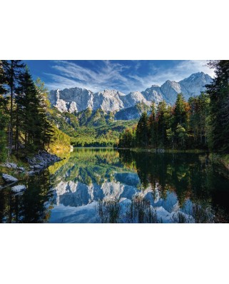 Puzzle Ravensburger - Germany, Eibsee Lake, 1.000 piese (19367)