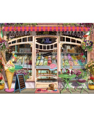 Puzzle Ravensburger - Ice Cream Shop, 1500 piese (16221)