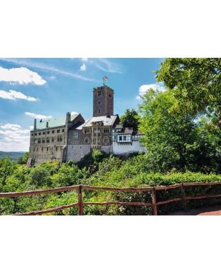 Puzzle Ravensburger - Idyllische Wartburg, 1.000 piese (19783)
