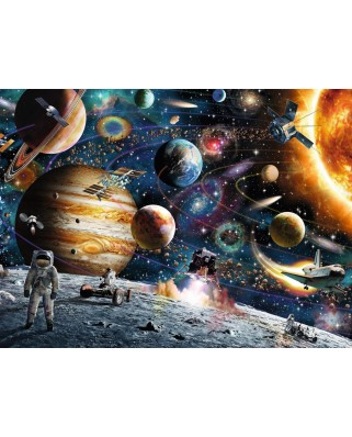 Puzzle Ravensburger - In Space, 150 piese (10016)
