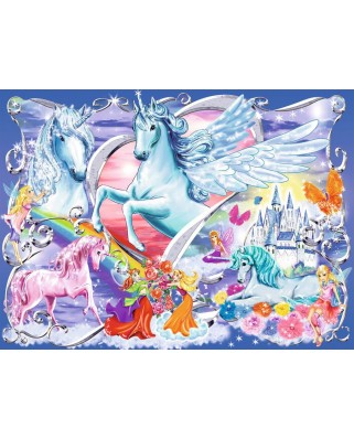 Puzzle Ravensburger - In the Fairies Wonderland, 100 piese XXL (13928)