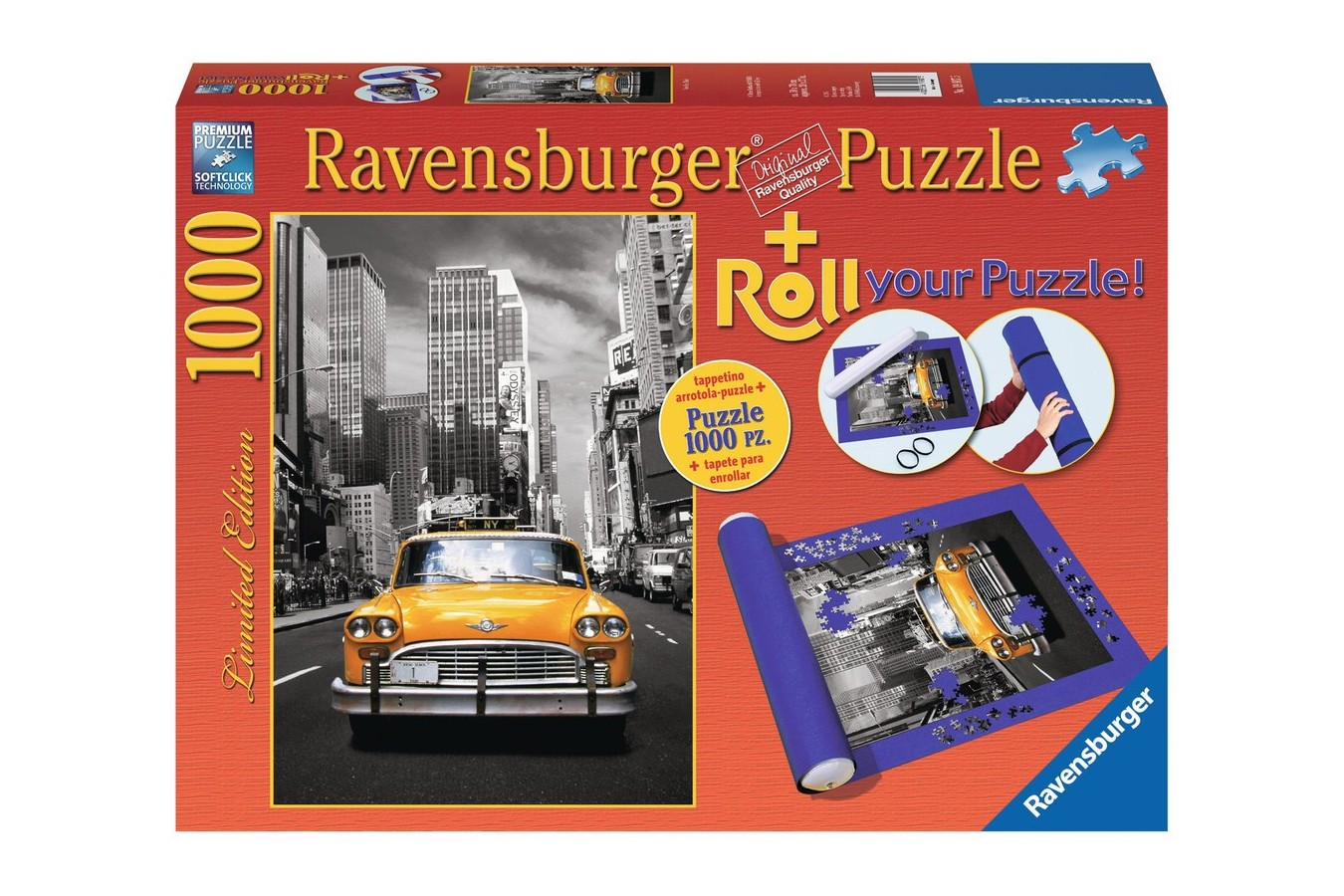 Puzzle Ravensburger - New York Taxi, 1.000 piese (19907)