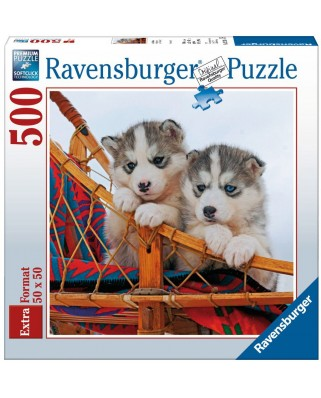 Puzzle Ravensburger - Little Husky, 500 piese (15230)