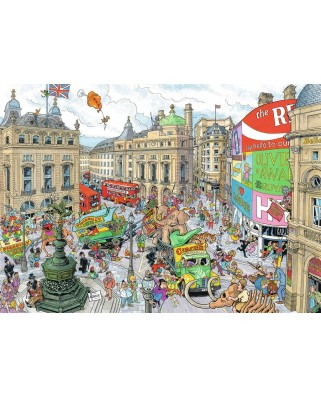 Puzzle Ravensburger - London, 1.000 piese (19928)