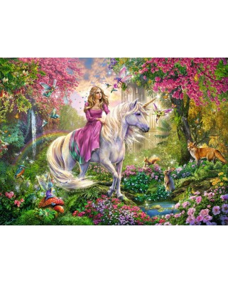 Puzzle Ravensburger - Magical ride, 100 piese XXL (10641)