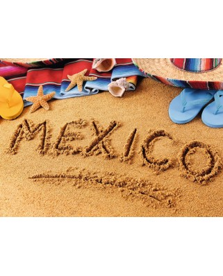 Puzzle Ravensburger - Mexico, 1.000 piese (19687)