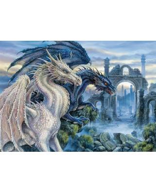 Puzzle Ravensburger - Mystic Dragon, 1.000 piese (19638)