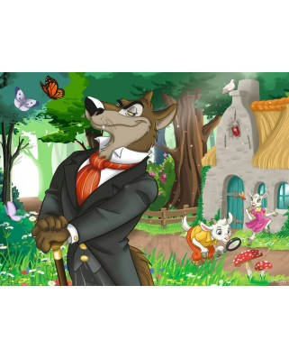 Puzzle Ravensburger - On the Way in the Fairytale Forest, 12/16/20/24 piese (06939)