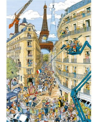 Puzzle Ravensburger - Paris, 1.000 piese (19503)