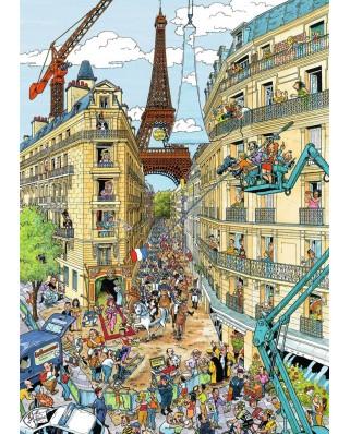 Puzzle Ravensburger - Paris, 1.000 piese (19927)
