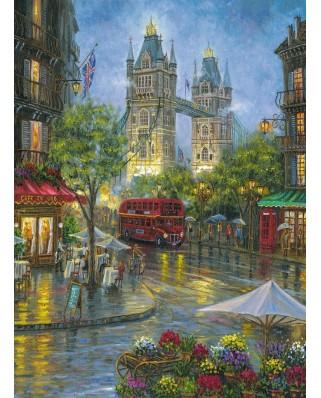 Puzzle Ravensburger - Picturesque London, 500 piese (14812)