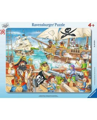 Puzzle Ravensburger - Pirates, 36 piese (06165)
