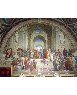Puzzle Ravensburger - Raphael: The School of Athens, 2.000 piese (16669)