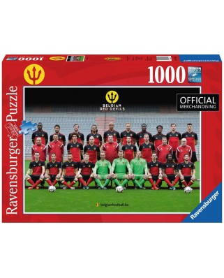 Puzzle Ravensburger - Red Devils 2016, 1.000 piese (19641)