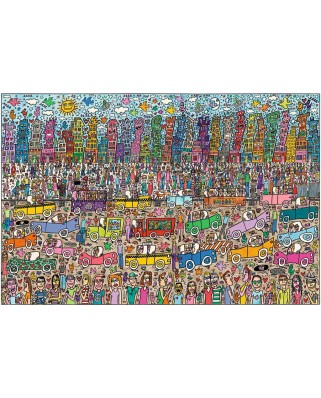 Puzzle Ravensburger - Rizzi James: Nothing is as Pretty as a Rizzi City, 5.000 piese (17427)