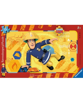 Puzzle Ravensburger - Sam In Action, 15 piese (06125)