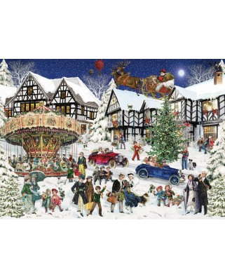Puzzle Ravensburger - Snowy Village, 1.000 piese (15359)