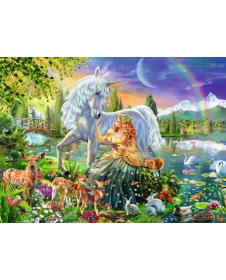 Puzzle Ravensburger - Star Line - Magical Meet, 200 piese XXL (13673)