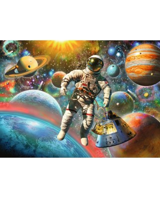 Puzzle Ravensburger - Star Line - Space Trip, 200 piese XXL (13612)