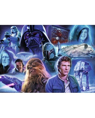 Puzzle Ravensburger - Star Wars Collection 2, 1.000 piese (19764)