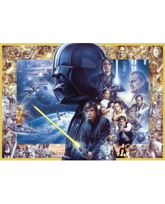 Puzzle Ravensburger - Star Wars, 1.000 piese (19669)