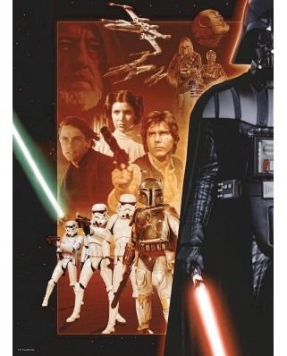 Puzzle Ravensburger - Star Wars, 500 piese (14766)