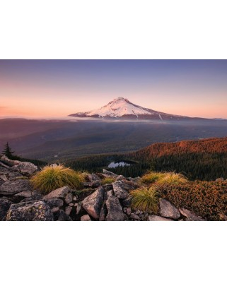 Puzzle Ravensburger - Stratovolcano Mount Hood in Oregon, USA, 1000 piese (15157)
