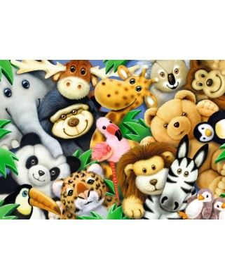Puzzle Ravensburger - Stuffed Animals, 35 piese (08794)