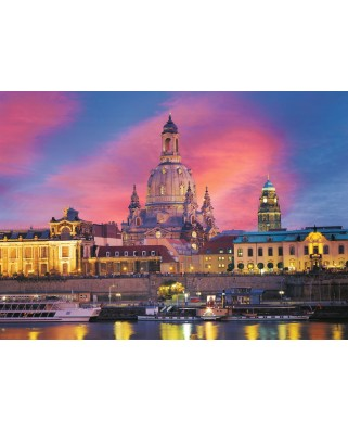 Puzzle Ravensburger - The Church of Dresde, Germany, 1.000 piese (15836)