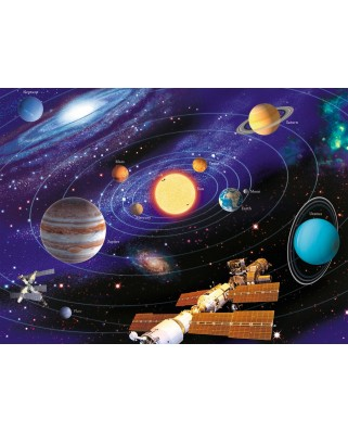 Puzzle Ravensburger - The Solar System, 200 piese XXL (12796)