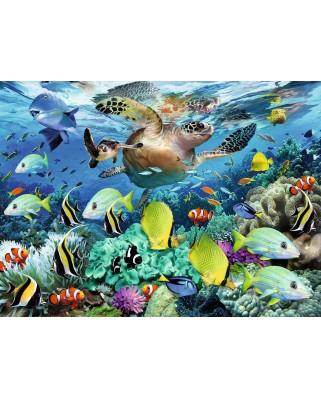 Puzzle Ravensburger - Underwater world, 150 piese XXL (10009)