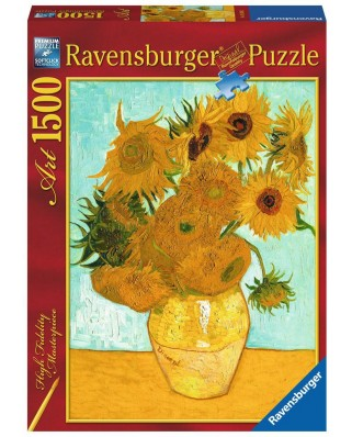 Puzzle Ravensburger - Vincent Van Gogh: The Sunflowers, 1500 piese (16206)