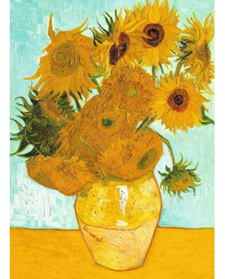 Puzzle Ravensburger - Vincent Van Gogh: The Sunflowers, 300 piese (14006)