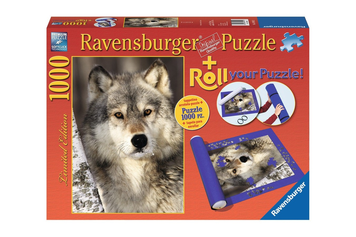 Puzzle Ravensburger - Lup, 1000 piese (19911)