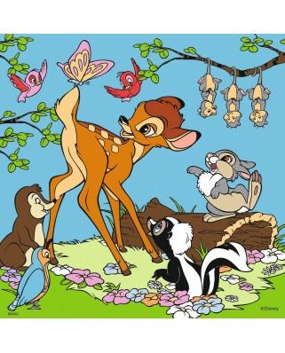 Puzzle Ravensburger - Walt Disney, 3x49 piese (08043)