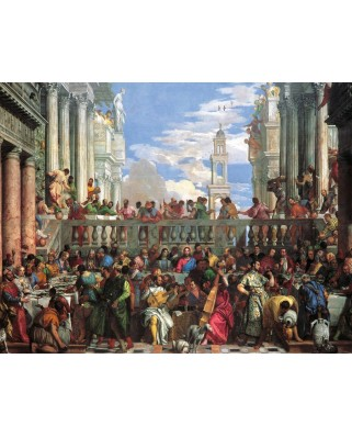 Puzzle Ravensburger - Wedding at Cana, 2.000 piese (16653)