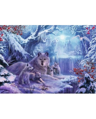 Puzzle Ravensburger - Wnter Wolves, 1.000 piese (19704)