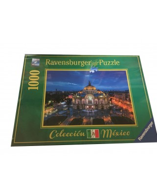 Puzzle Ravensburger - Palace of Fine Arts, Mexico, 1.000 piese (19842)