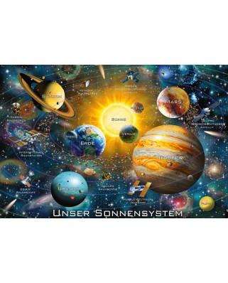 Puzzle Schmidt - Sistemul solar, 200 piese (56308)