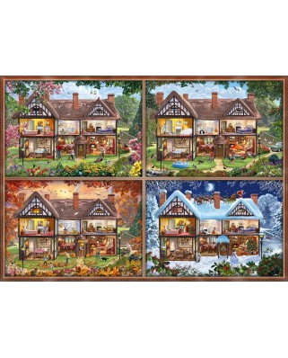 Puzzle Schmidt - House Of Four Seasons, 2000 piese (58345)