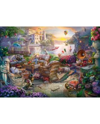 Puzzle Schmidt - Italian Terrace, 1.000 piese (58346)