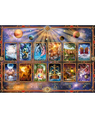 Puzzle Schmidt - Signs Of The Zodiac, 1.000 piese (58347)
