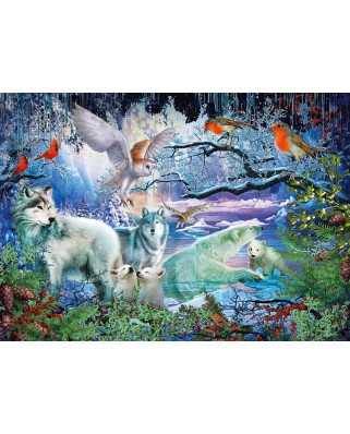 Puzzle Schmidt - Wolves In A Winter Forest, 1.000 piese (58349)