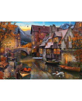 Puzzle Schmidt - House On The Channel, 1.000 piese (58355)