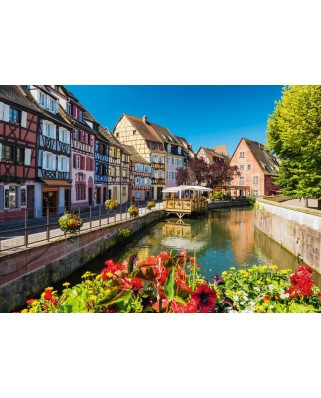 Puzzle Schmidt - Little Village With Half-Timbered Houses, 1.000 piese (58359)