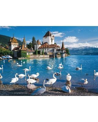 Puzzle Schmidt - Lakeshore Swans, 1.000 piese (58367)