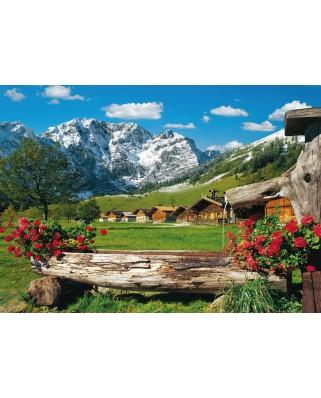 Puzzle Schmidt - Mountain Paradise, 1.000 piese (58368)