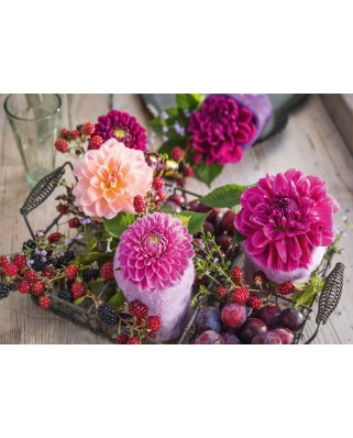 Puzzle Schmidt - Berries And Flowers, 1.000 piese (58369)