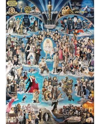 Puzzle Schmidt - Renato Casaro: Hollywood XXL, 3.000 piese (59347)